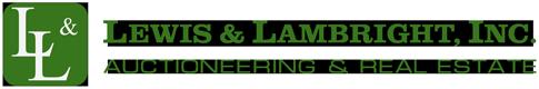 Lewis & Lambright Auctioneering & Real Estate Logo