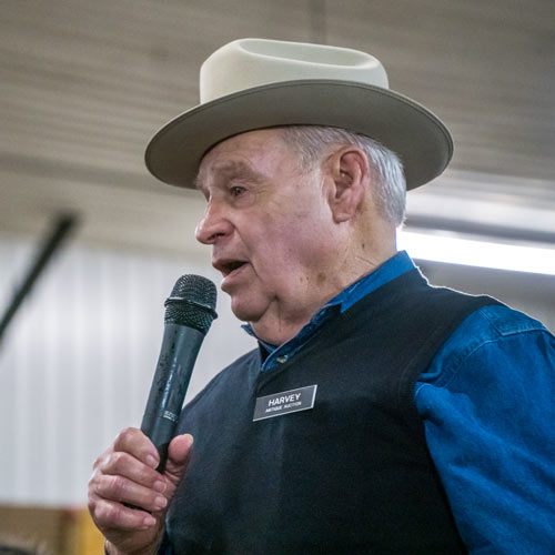 Harvey Lambright at an Auction in 2017